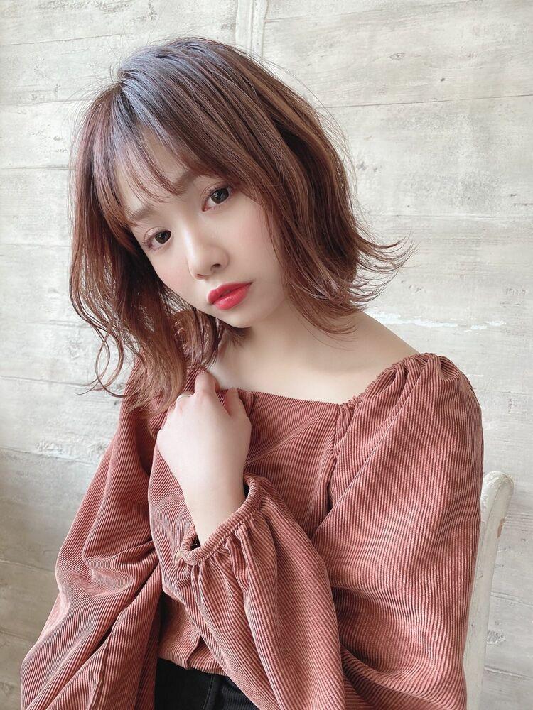 大人かわいい美髪フレンチボブ〔THOiRY栄/橋本圭司〕