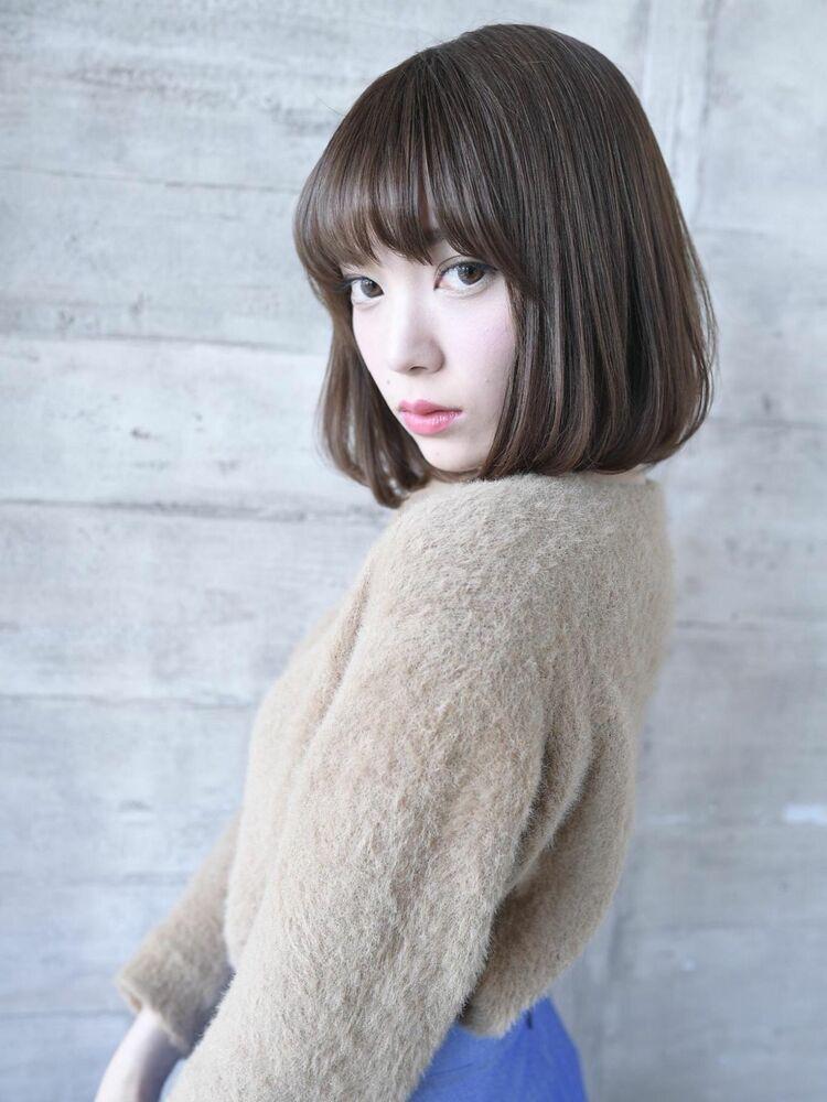 上品で綺麗 エレガントボブ〔THOiRY栄/橋本圭司〕