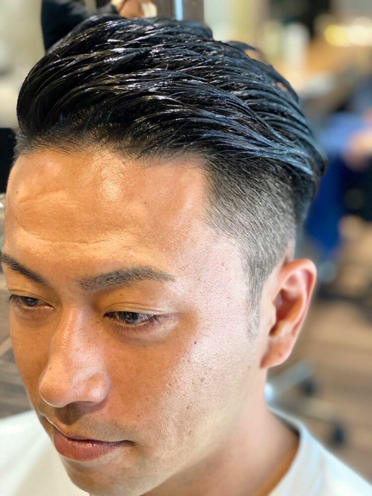 ビジネスマンにオススメ!ON OFFで使い分けるヘアスタイル『アシメオールバック』簡単10秒セット