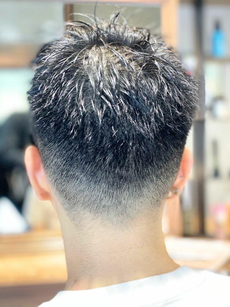 簡単セット『クロップフェード』10秒でスタイリングが決まる髪型