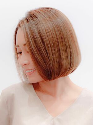 「ボブ・ミディアムの小顔・似合わせプロ」MINX 銀座 副店長 / 蛭田佑介