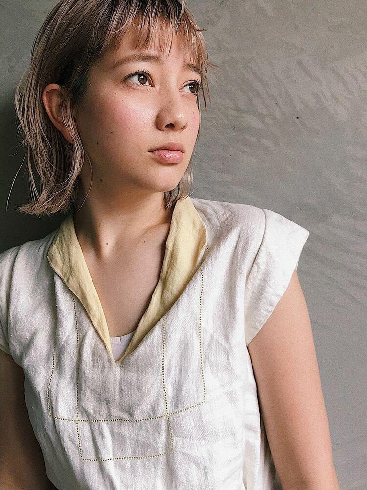 ハイトーンの外ハネボブ🧡Belle 須藤