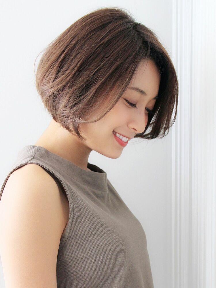Agnos青山✨艶髪ストレートボブ