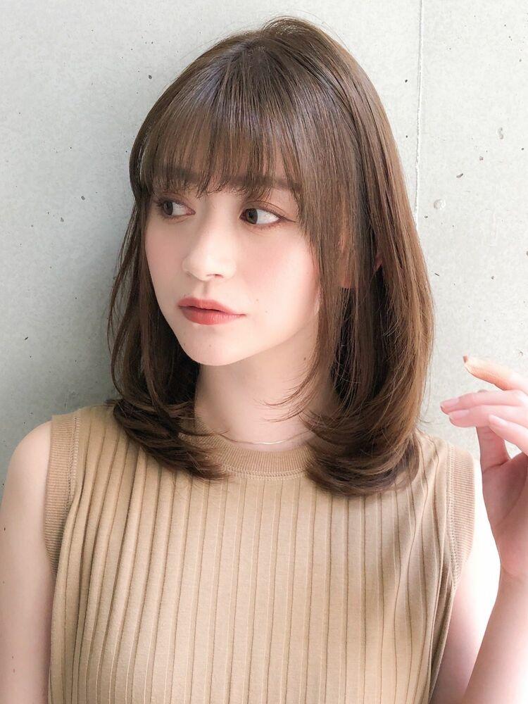 Agnos青山✨ナチュラル艶髪ミディ