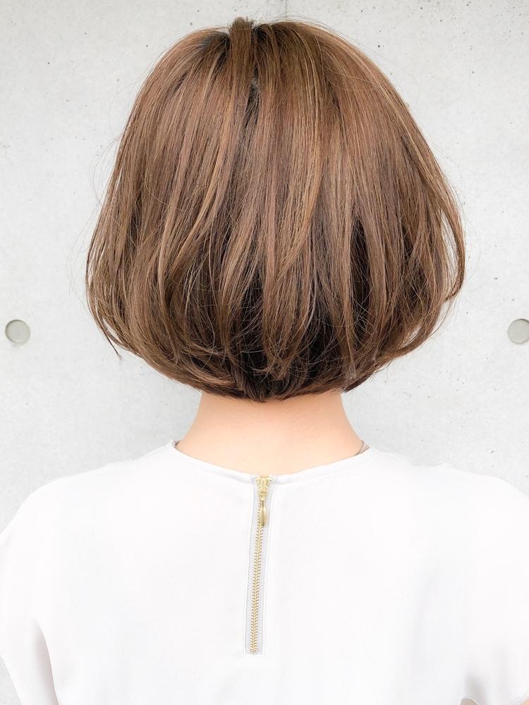 Agnos青山 30代40代◎グラデーションカラー小顔ブランジュくびれボブ