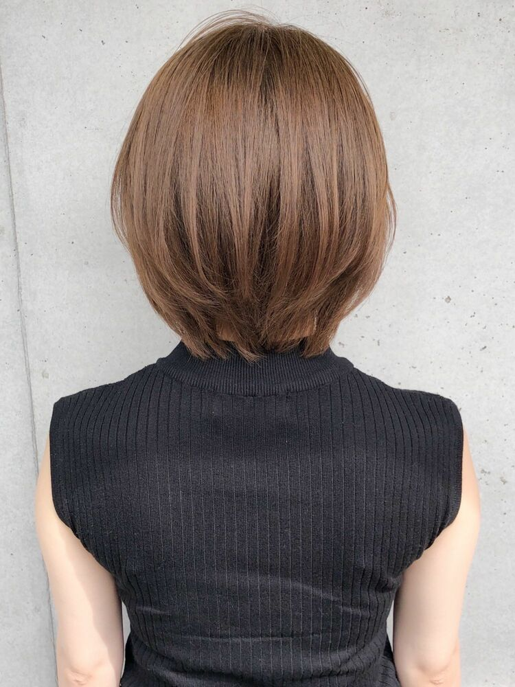 Agnos青山✨大人艶髪ショート