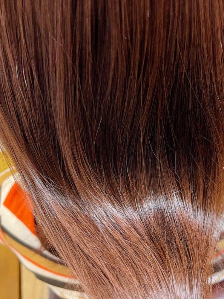 カット+カラー+髪質改善トリートメント