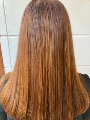 髪の毛ツヤツヤ髪質改善カット