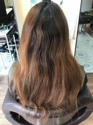 髪質から改善ストレートパーマ