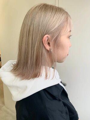 オシャレハイトーンヘア