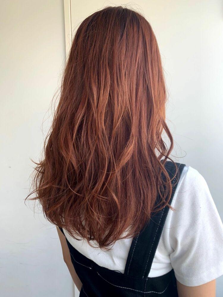 深みオレンジブラウンカラー