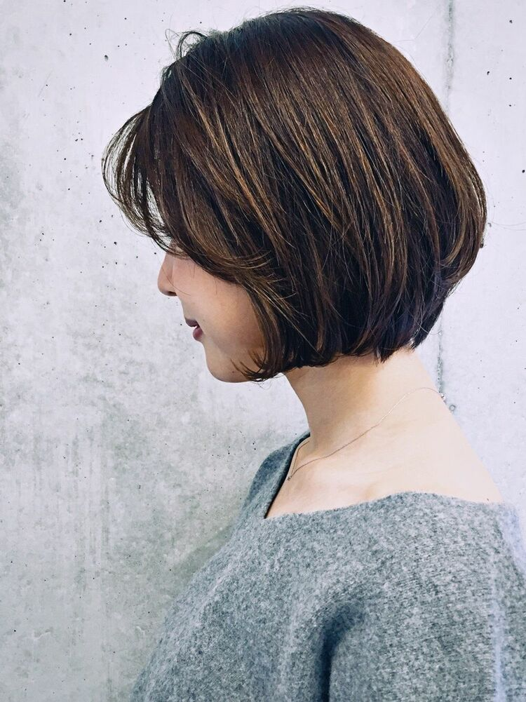後頭部ふんわり、頭の形をキレイに!JEANA HARBOR インスタ→yusuke.goto