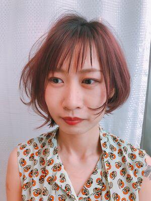 Belle銀座・前髪職人長岡スタイル 前髪でお悩み方是非!!