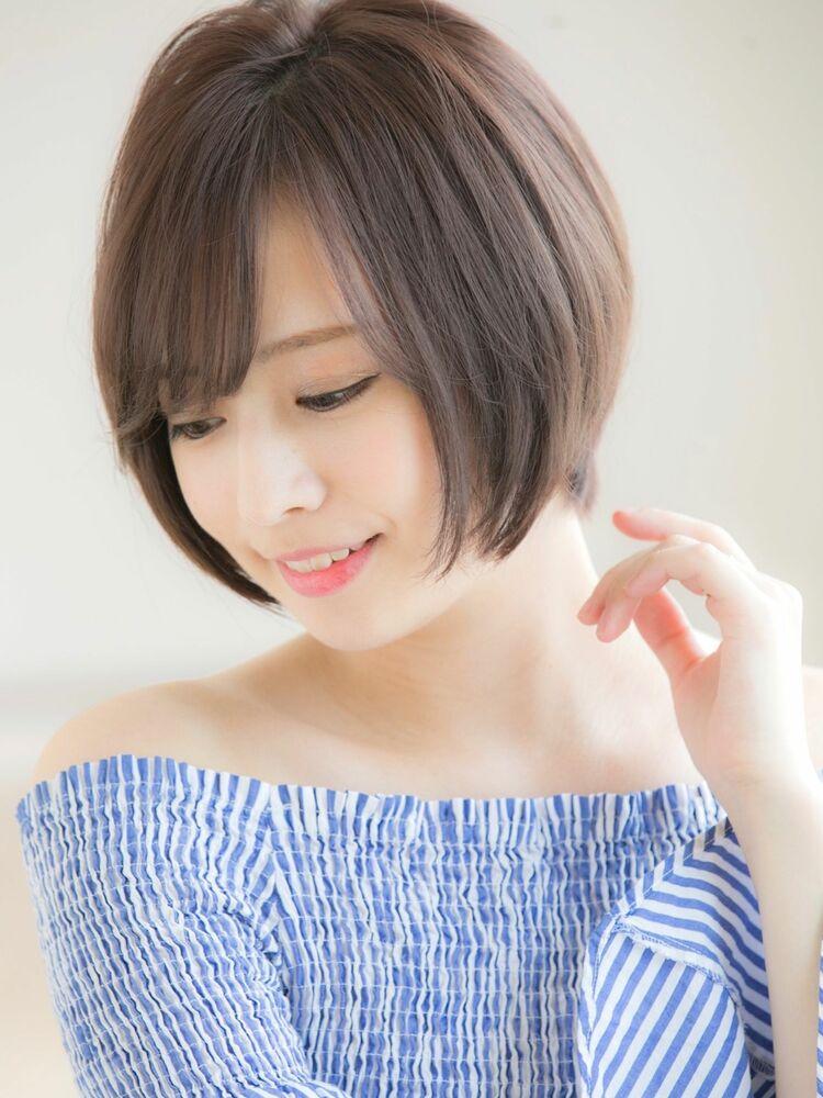 Euphoria山村*大人かわいいナチュラルショートボブ*ひし形ig@miwako.yamamura