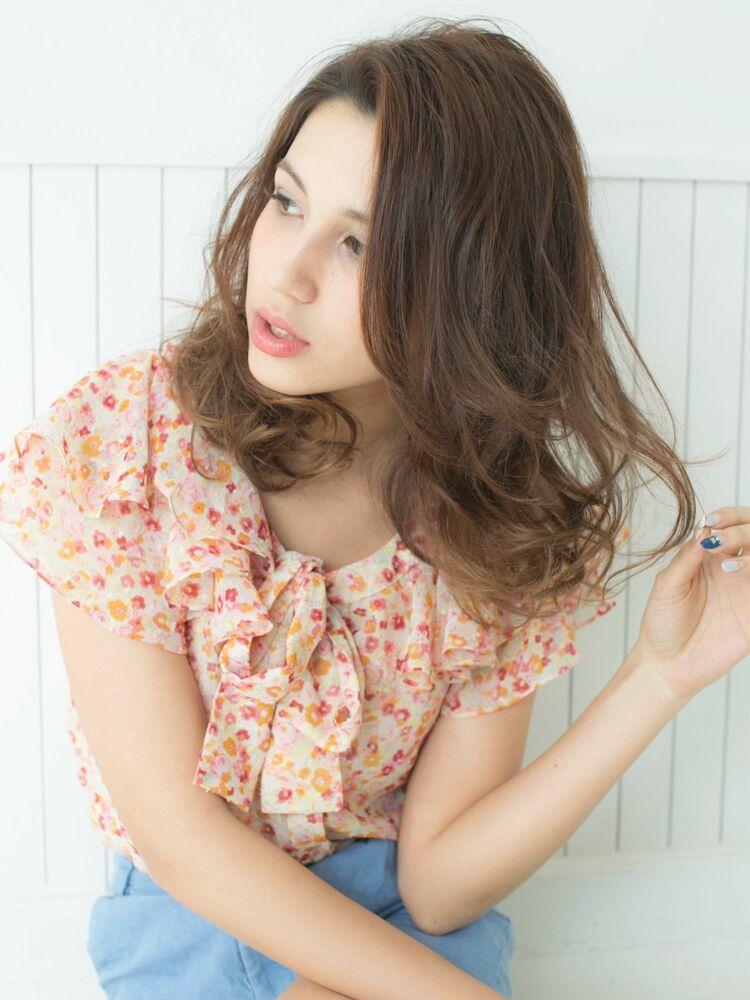 *Euphoria山村実和子*愛されゆるふわエアリーミディ ig@miwako.yamamura