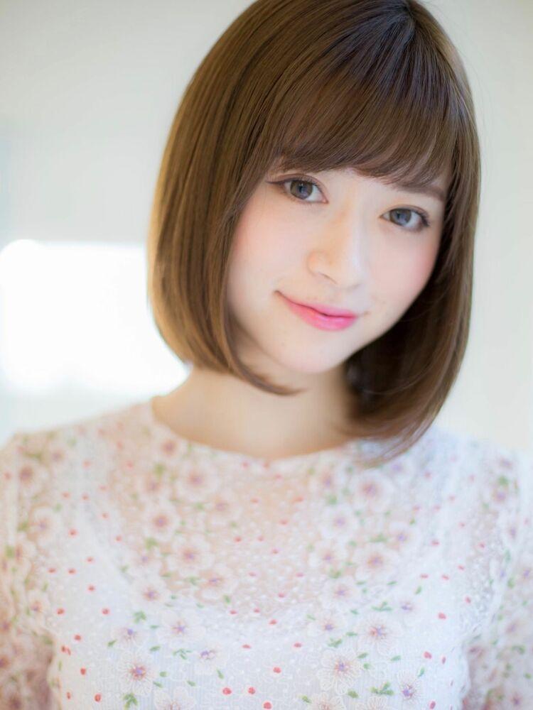 *Euphoria山村*小顔前下がりボブ☆ナチュラルボブig@miwako.yamamura