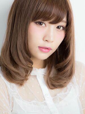 *Euphoria山村実和子*大人かわいい☆ワンカールセミディ ig@miwako.yamamura