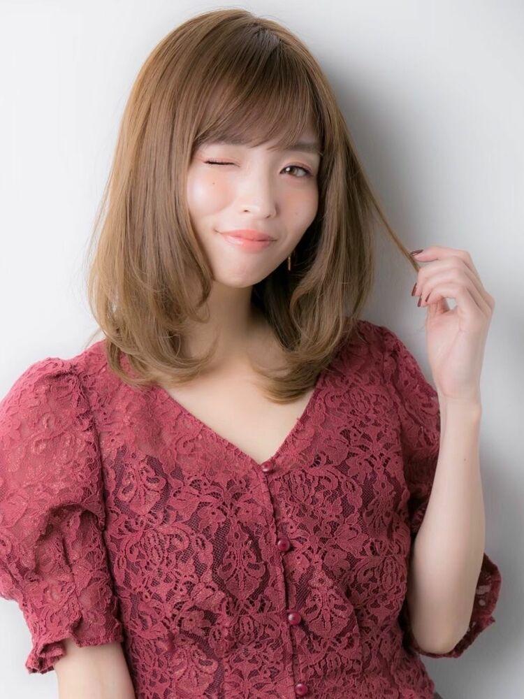 *Euphoria山村*ひし形シルエットのワンカールミディig@miwako.yamamura