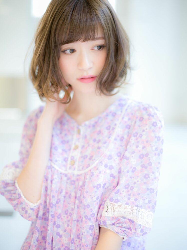 *Euphoria山村実和子*大人気の小顔ゆるふわボブ ig@miwako.yamamura