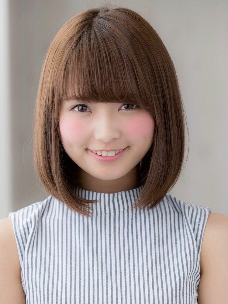 *Euphoria山村*大人かわいい小顔前下がりボブ☆ナチュラルig@miwako.yamamura