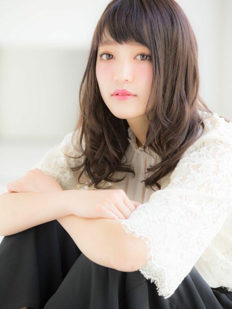 *Euphoria山村実和子*ベビーバングのゆるふわセミディig@miwako.yamamura