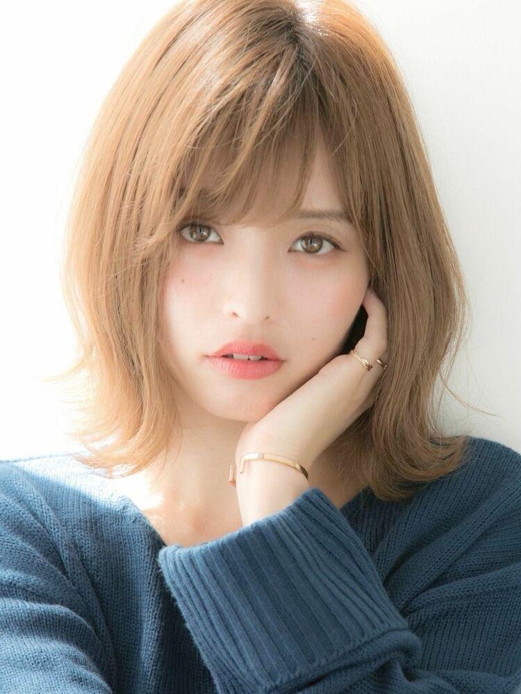 *Euphoria山村実和子*大人かわいい外ハネボブ ig@miwako.yamamura