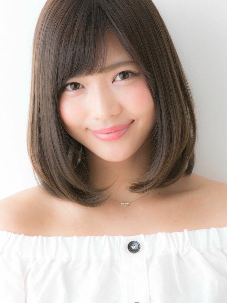 *Euphoria山村*ひし形シルエットの小顔ワンカールロブ ig@miwako.yamamura