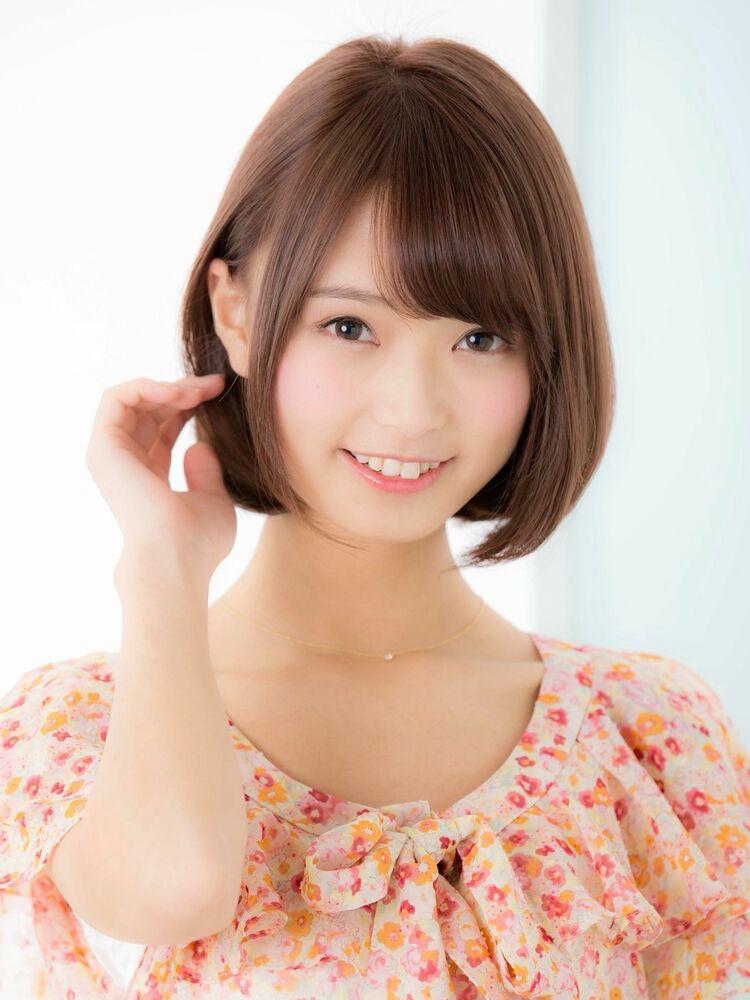 *Euphoria山村*小顔前下がりボブ☆ピンクブラウン ig@miwako.yamamura