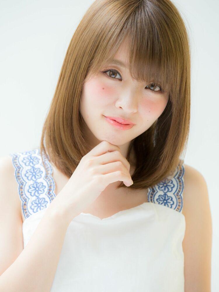 *Euphoria山村実和子*ベージュカラーのナチュラルミディig@miwako.yamamura