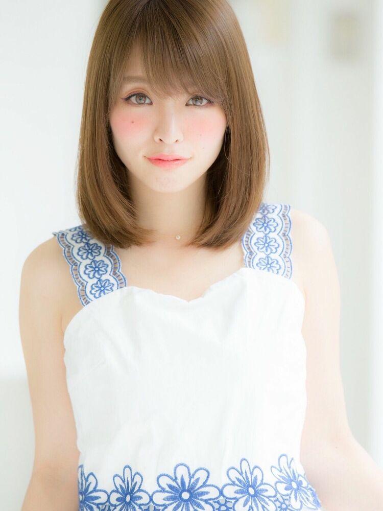 *Euphoria山村実和子*大人可愛い小顔ワンカールロブ ig@miwako.yamamura
