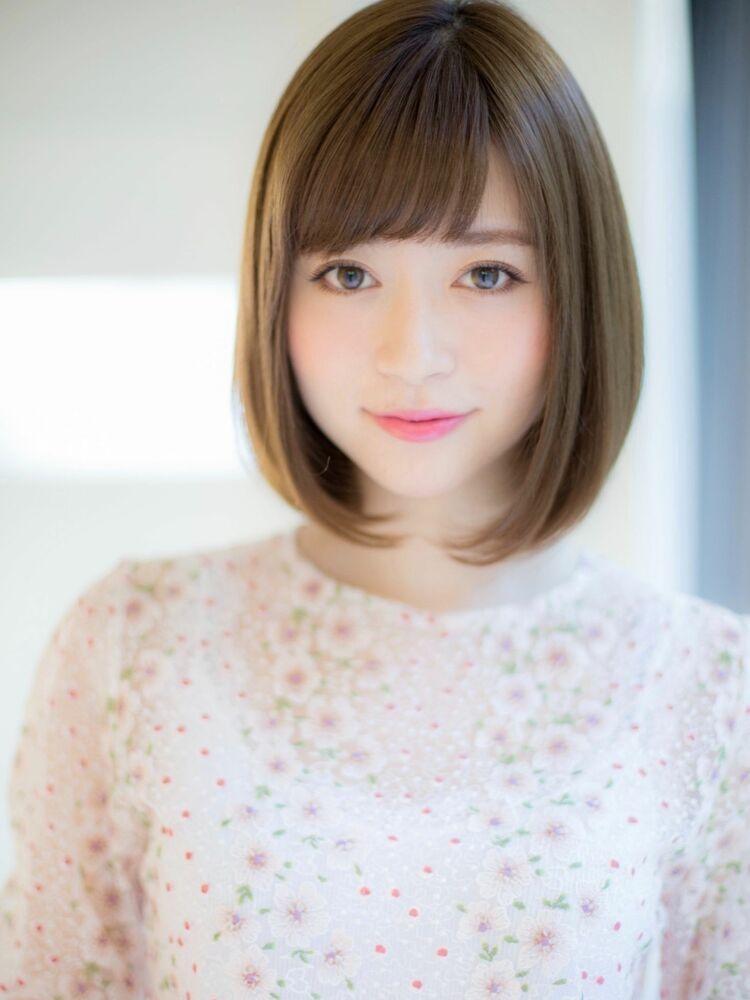*Euphoria山村*大人可愛い小顔ヘア☆ナチュラルボブig@miwako.yamamura