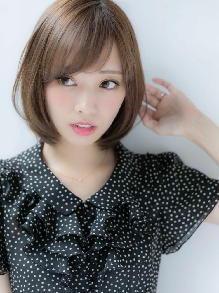 *Euphoria山村*ナチュラル可愛い☆理想のワンカールボブig@miwako.yamamura