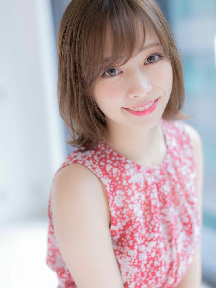 *Euphoria山村*大人可愛い小顔外ハネボブ☆ネオウルフig@miwako.yamamura