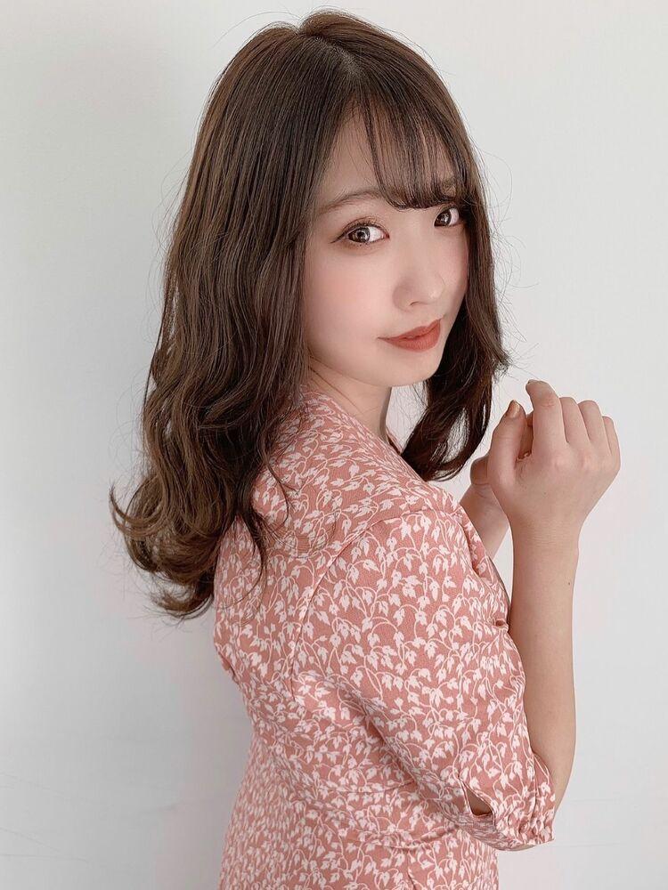 *Euphoria山村実和子*大人かわいいゆるふわセミディ ig@miwako.yamamura