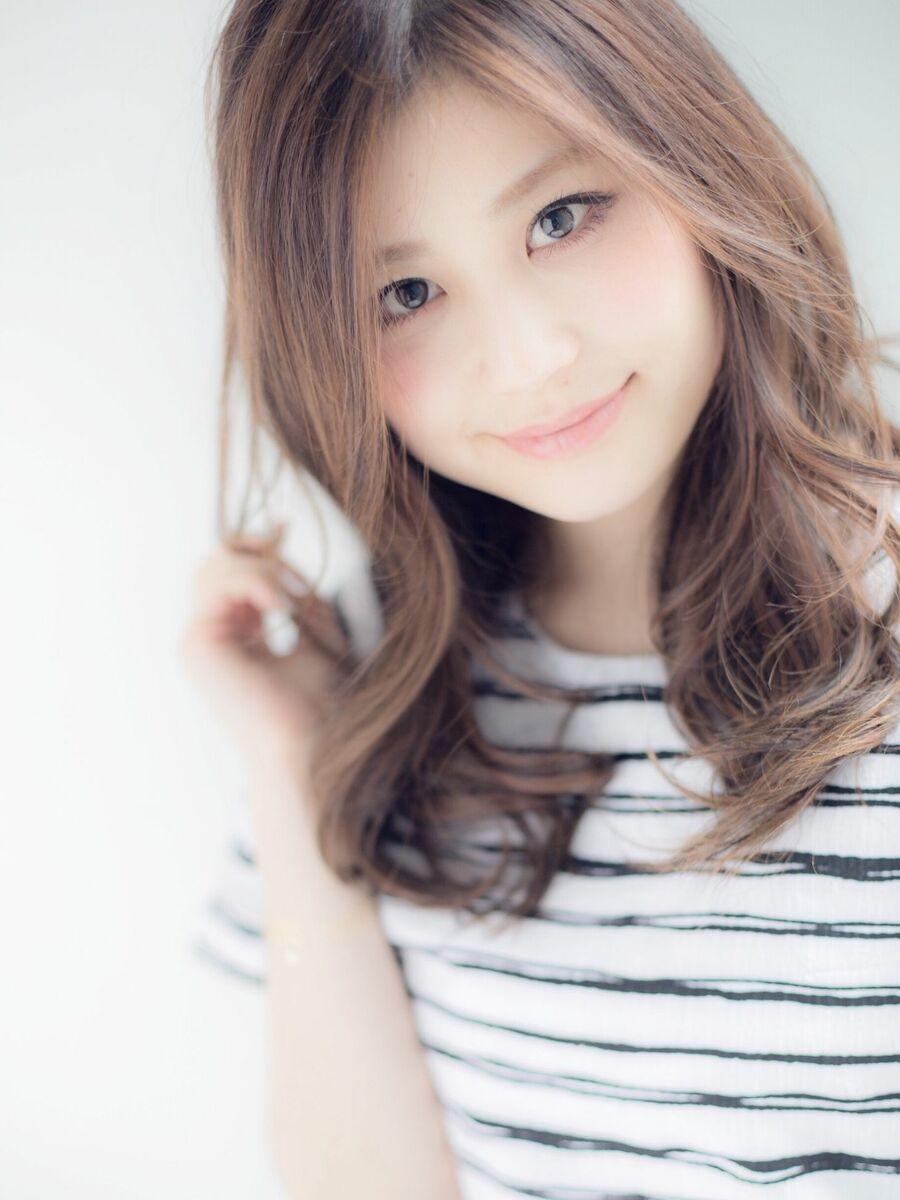 *Euphoria山村実和子*大人可愛いゆるふわミディ ig@miwako.yamamura