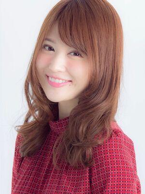 *Euphoria山村実和子*大人可愛いゆるふわ小顔セミロングig@miwako.yamamura