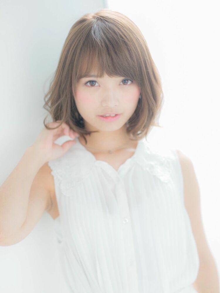*Euphoria山村実和子*ゆるふわボブ ig@miwako.yamamura