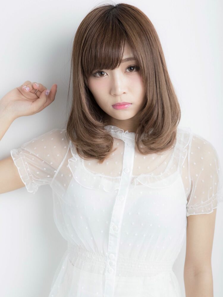 *Euphoria山村実和子*大人可愛い小顔ワンカールミディig@miwako.yamamura