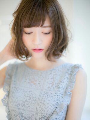 *Euphoria山村実和子*大人気*小顔ゆるふわボブ ig@miwako.yamamura
