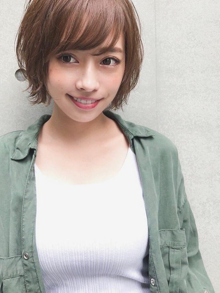 外はねショート 宮崎えりな インスタも見てみて下さい☆→@miyazaki.erina