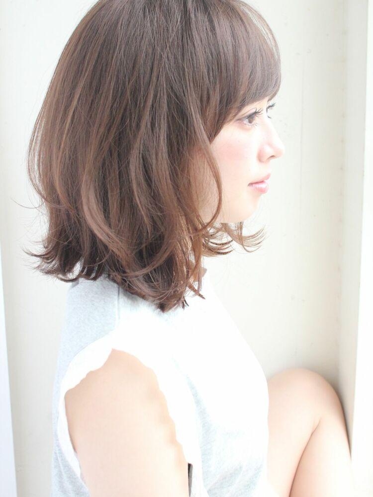 外はねミディアムボブ 宮崎えりな インスタも見てみて下さい☆→@miyazaki.erina