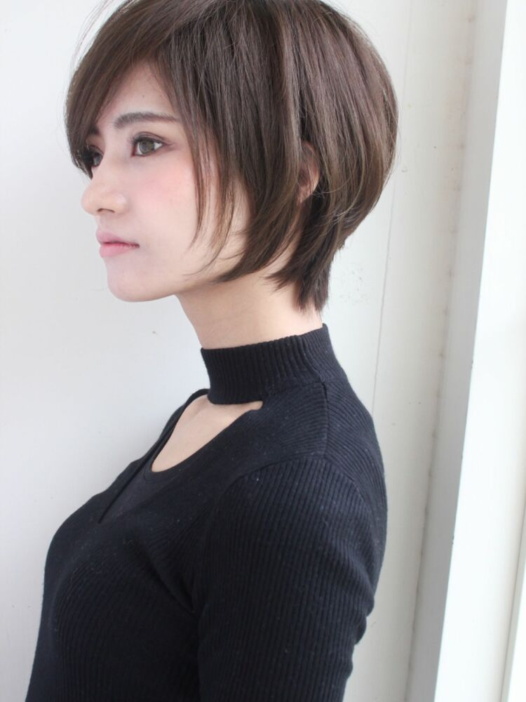 ひし形大人可愛いショート 宮崎えりな インスタも見てみて下さい→@miyazaki.erina
