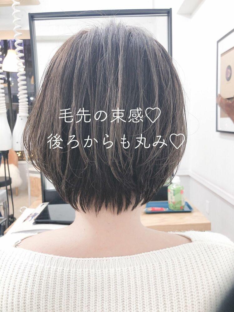 ひし形前下がりショートボブ 宮崎えりな インスタも見てみて下さい☆→@miyazaki.erina