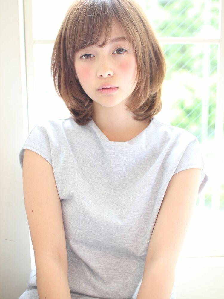 ひし形ワンカールボブ 宮崎えりな インスタも見てみて下さい☆→@miyazaki.erina