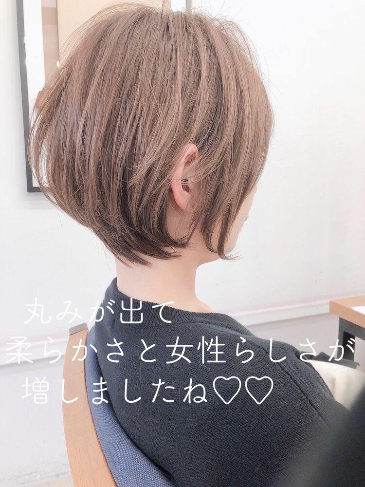 大人可愛いショート 宮崎えりな インスタも見てみて下さい☆→@miyazaki.erina