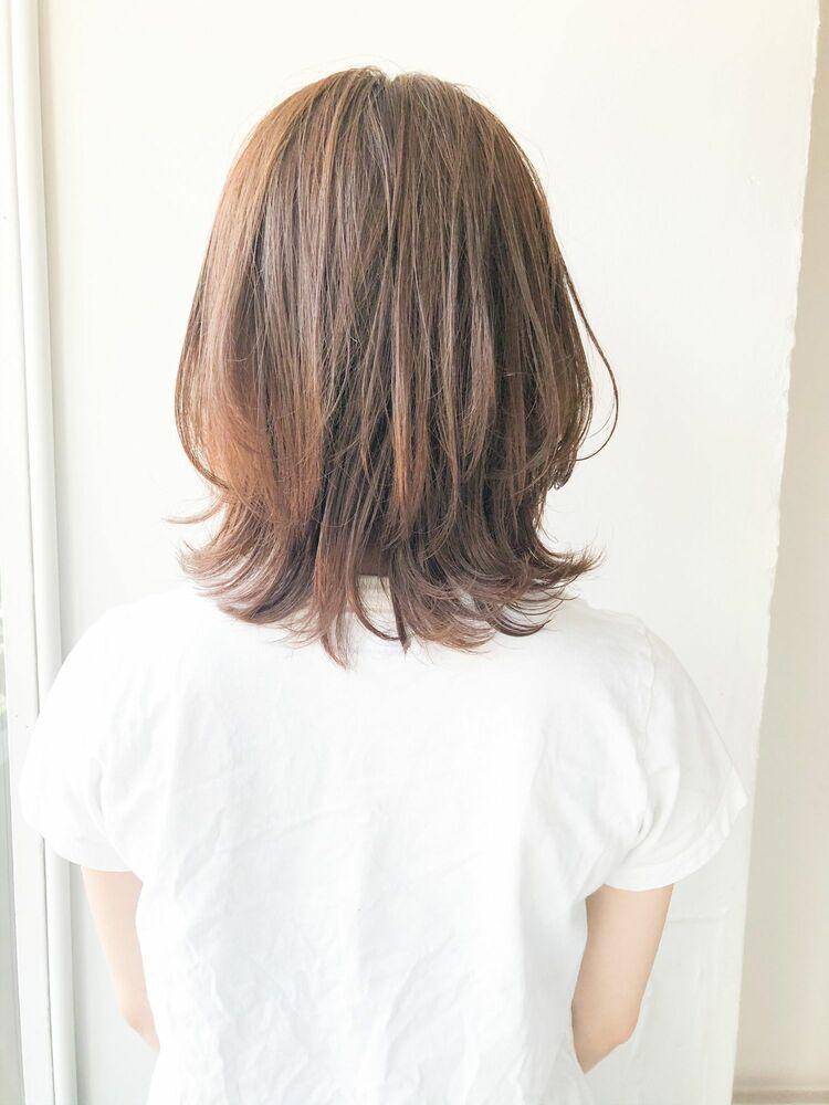 小顔ミディアム 宮崎えりな インスタも見てみて下さい☆→@miyazaki.erina