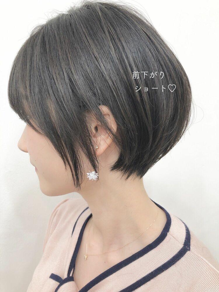 耳かけ前下がりショート☆宮崎えりな インスタもぜひ見てみてください☆→@miyazaki.erina