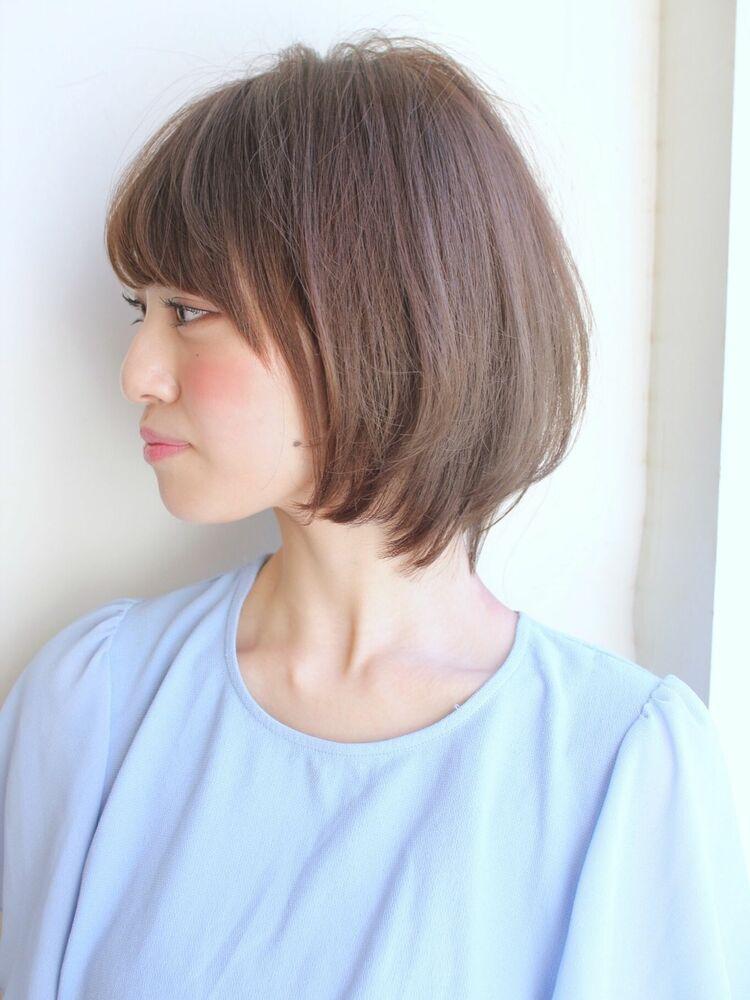 ひし形ふんわり愛されミディアムボブ 宮崎えりな インスタも☆→@miyazaki.erina