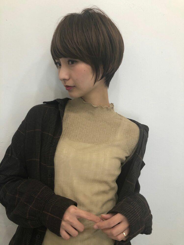 渋谷美容室kayak 宮崎えりなショートボブ♡インスタ→@miyazaki.erina