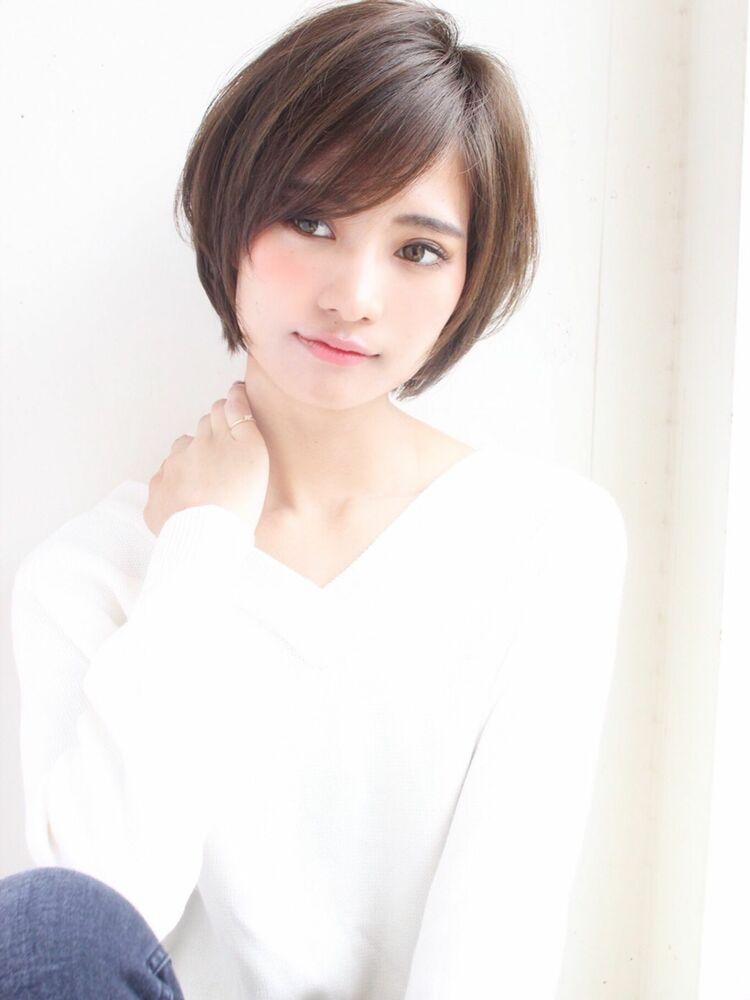 ひし形大人可愛いショート 宮崎えりな インスタも見てみて下さい☆→@miyazaki.erina
